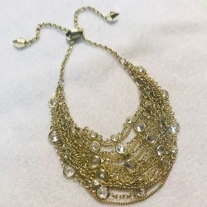 Kendra Scott Stassi Skirt Bracelet - Gold/CZ